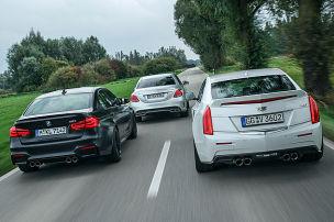 BMW M3/Cadillac ATS-V/Mercedes-AMG C 63 S: Test