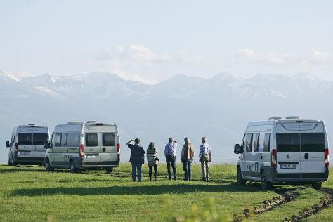 Wohnmobile: Drei Kastenwagen im Vergleich