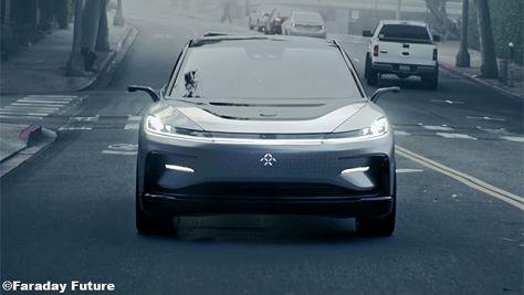 Faraday Future FF91 Crossover/SUV (CES 2017): News