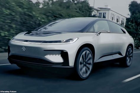 Faraday Future Crossover/SUV (CES 2016): Teaser-Video