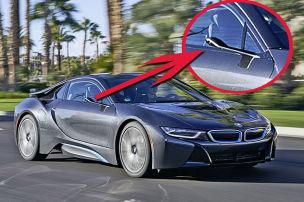BMW i8 Mirrorless (CES 2016): Fahrbericht