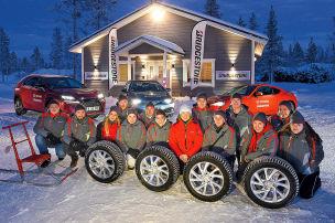 Aktion: Wintertest in Lappland