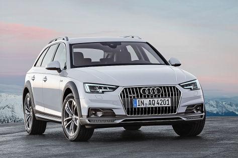 Audi A4 allroad (Detroit 2016): Erlkönig