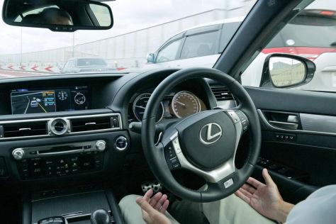 Toyota-Technik gegen Unfälle