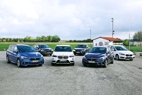 BMW X1 und seine Brüder