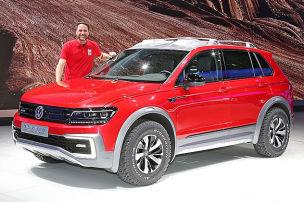 VW Tiguan GTE Active Concept im Test: Sitzprobe