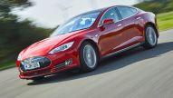 Tesla Model S / Model X mit Ruf-Funktion