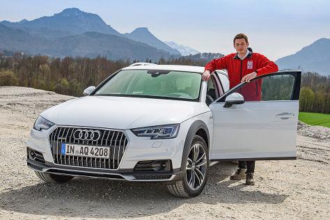 Audi A4 allroad (Detroit 2016): Sitzprobe
