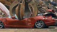 Nissan Skyline R33 in den USA zerst�rt