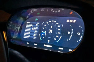 Regera-Cockpit voll digitalisiert