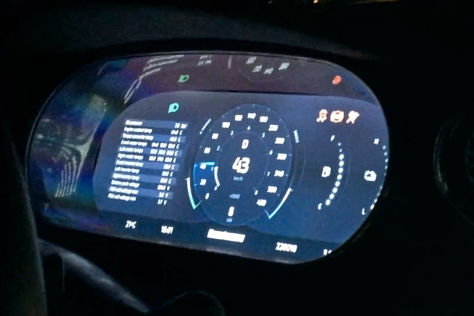 Koenigsegg Regera: Cockpit-Video