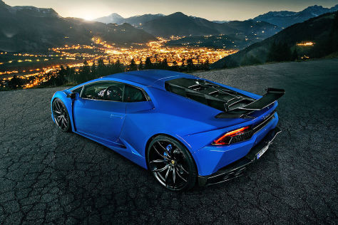 Lamborghini Huracán Novitec Torado N-Largo: Vorstellung