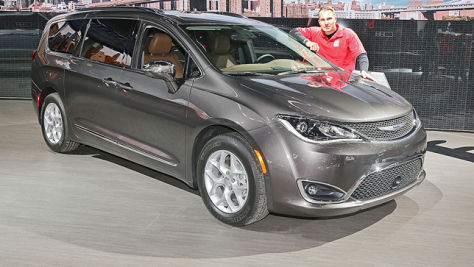 Chrysler Pacifica (2016): Sitzprobe