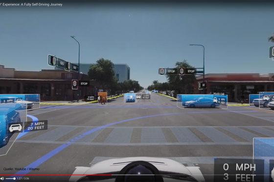 """Das kann das """"Google Car"""""""