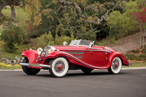 mercedes 540 k special roadster 1937 auktion auto. Black Bedroom Furniture Sets. Home Design Ideas