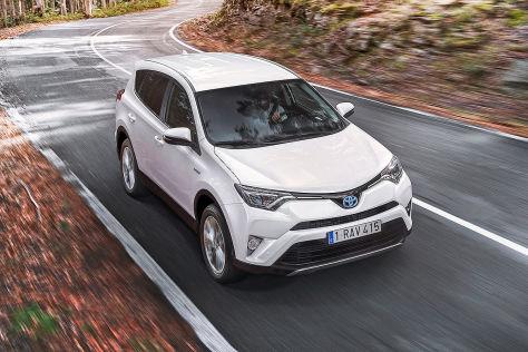 Toyota RAV4 Hybrid (2016): Vorstellung