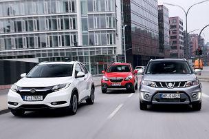 Honda HR-V/Opel Mokka/Suzuki Vitara: SUV-Test