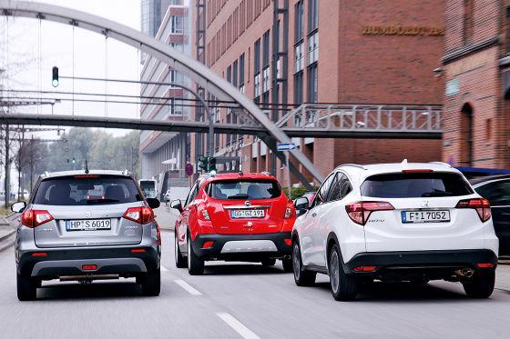 Honda HR-V Opel Mokka Suzuki Vitara