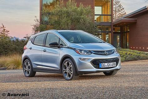 Opel Elektro-Auto (2017): Vorschau