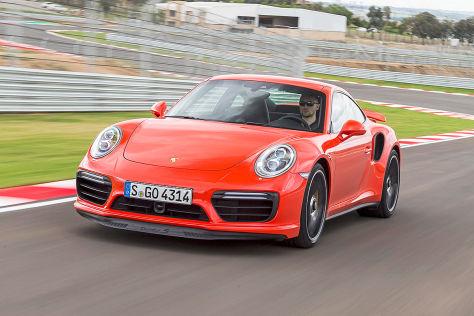 Porsche 911 Turbo S (2016): Fahrbericht