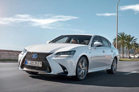 Lexus GS 450h Facelift (2016): Fahrbericht