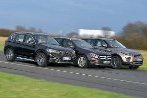 BMW X1/Mercedes GLA/Range Rover Evoque: Test