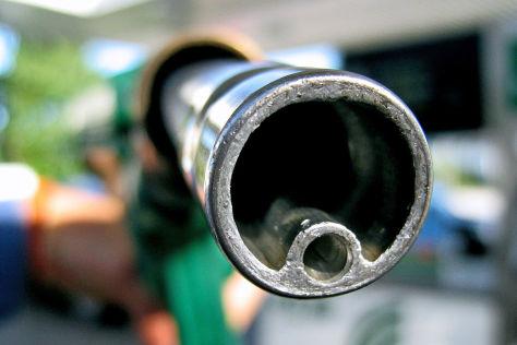 Benzinpreis auf Talfahrt
