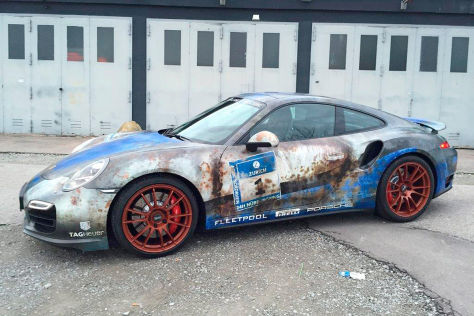 Tuning: Porsche 911 im Patina-Look
