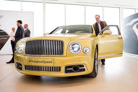 Bentley Mulsanne Facelift (2016): Erlkönig