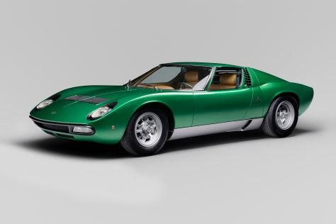 Lamborghini Miura wird 50