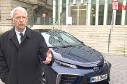Deutschlands erstes Wasserstoffauto rollt