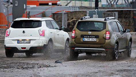 Dacia Duster/SsangYong Tivoli: Test
