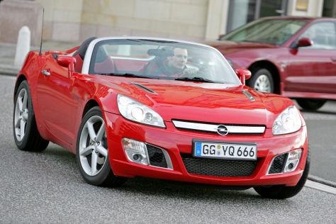 Opel GT II auf US-Basis
