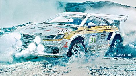 Serienautos für die Rallye-WM