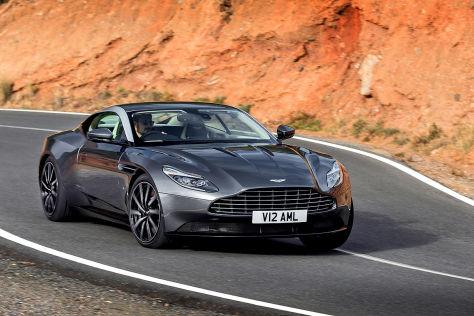 Aston Martin DB11 (2016): Erlkönig