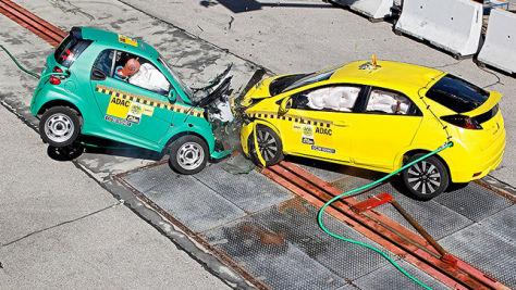 VW Golf, Honda Civic: ADAC-Crashtest