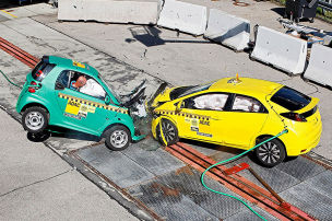 VW Golf, Honda Civic: ADAC-Crashtest