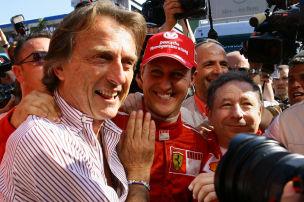 Formel 1: Montezemolo über Schumacher
