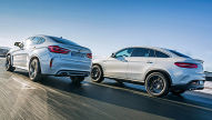 BMW X6 M/Mercedes-AMG GLE 63 S Coup�: Test