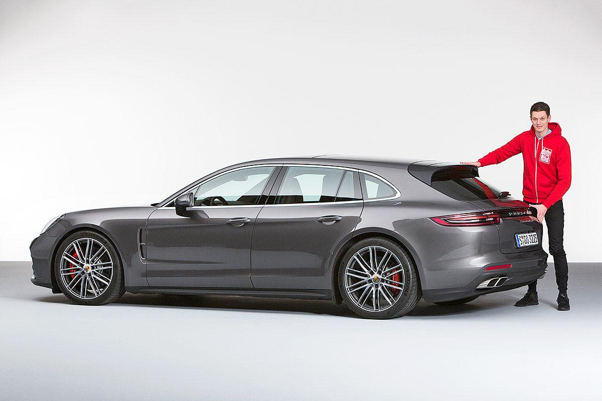 Porsche Panamera Sport Turismo 2017 Test Und Preise Bilder Autobild De