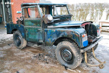 Scheunenfund: Erster Land Rover Diesel