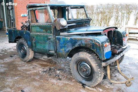 Auktion: Erster Land Rover Defender Diesel