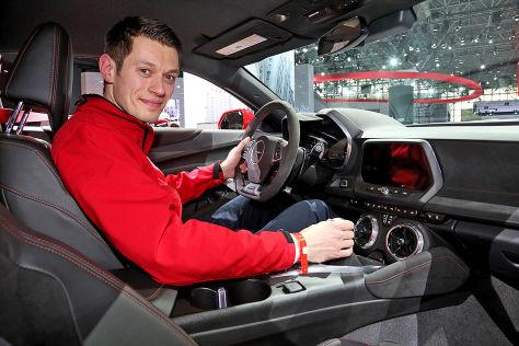 Chevrolet Camaro ZL1 (New York 2016) im Test: Sitzprobe