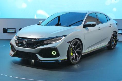 Honda Civic Prototyp (Genf 2016): Vorschau