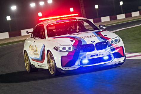 BMW M2 MotoGP Safety Car: Vorstellung