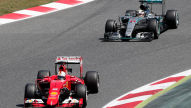 Formel 1: Ferrari jagt Mercedes