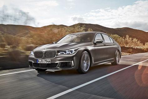 BMW M760Li XDrive Genf 2016 Vorstellung