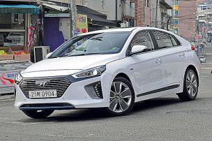 So f�hrt der Hyundai Ioniq