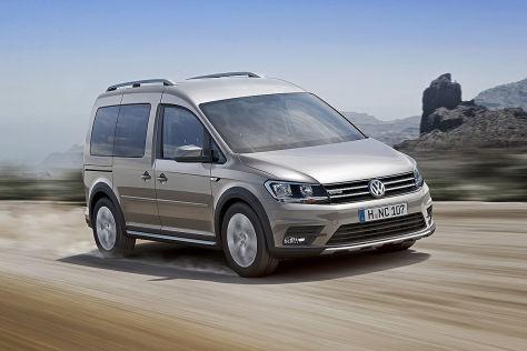 VW Caddy Alltrack (2016): Fahrbericht