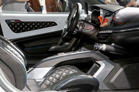 Renault Alpine Vision (2016): Erster Eindruck / Sitzprobe